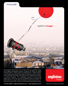 Angenieux Optimo Red Balloon Ad