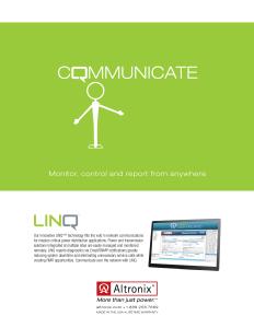 Altronix Linq Print Ad