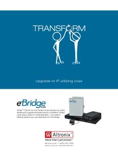 Altronix Transform Print Ad