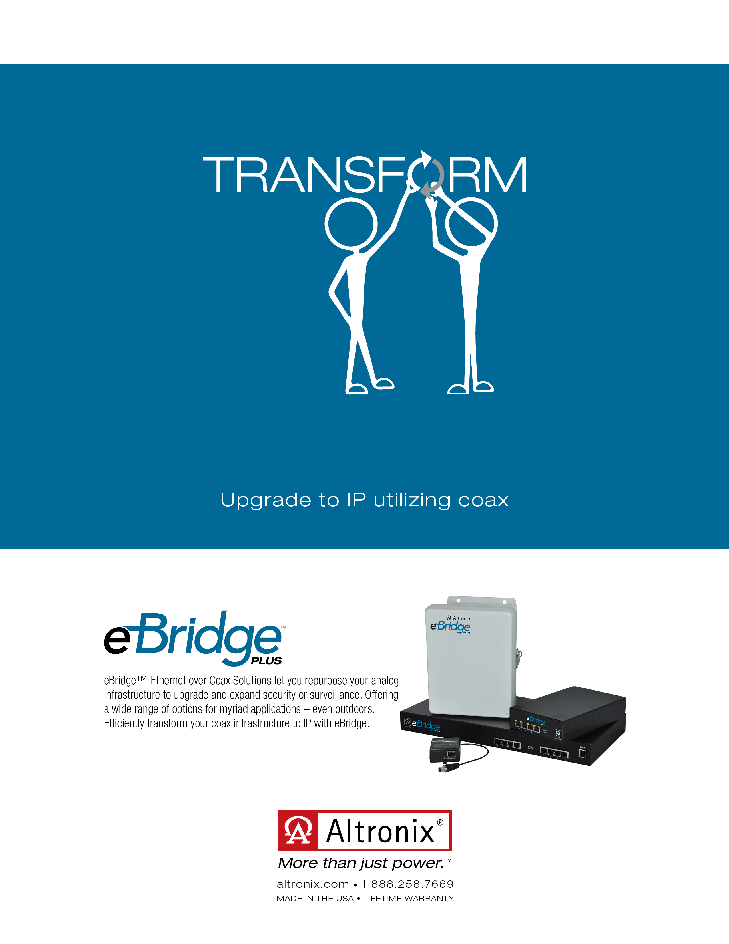 Altronix Transform Print Ad