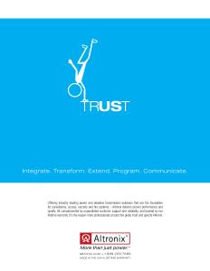 Altronix Trust Corporate Ad