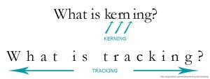 Tracking and Kerning