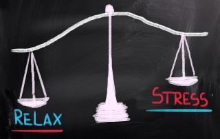relax vs stress